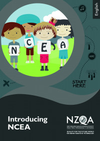 Introducing NCEA English brochure cover