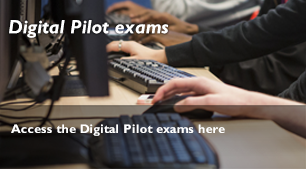 homepage hotspot Digital Pilot exams