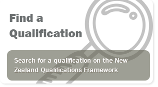Find a Qualification on the NZ Qualifications Framework
